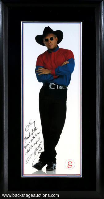 garth brooks signed personalized
