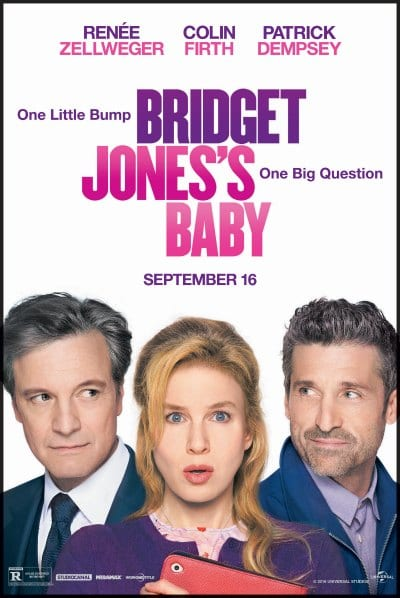 Image result for bridget jones's baby poster