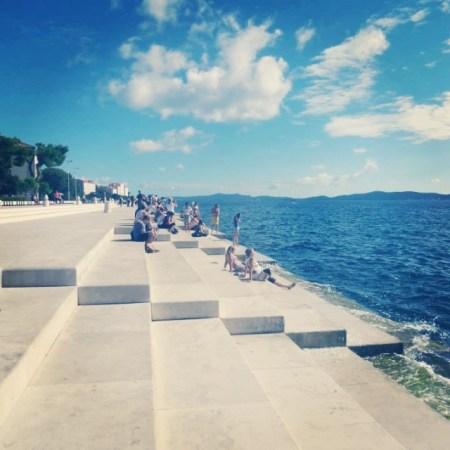 Zadar Croatia Sea Organ