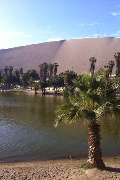 Huacachina, a desert oasis Peru