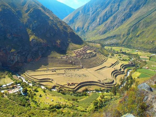 Scenery along the Inca Trail Hike, Peru