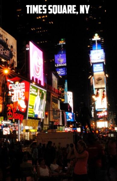Times Square, New York, NY at Night