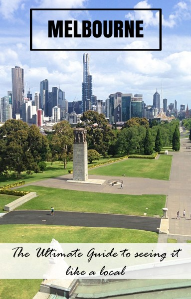 The view of Melbourne from the Shrine of Remembrance. From alleyways, parks, neighbourhoods and bars, this is the Ultimate Guide to Seeing Melbourne like a local. By @backstreetnomad