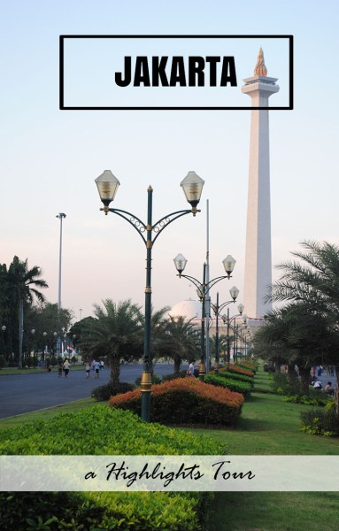 The National Monument, the centrepiece of Jakarta, Indonesia. One of the best things to do if you have a few days to kill.