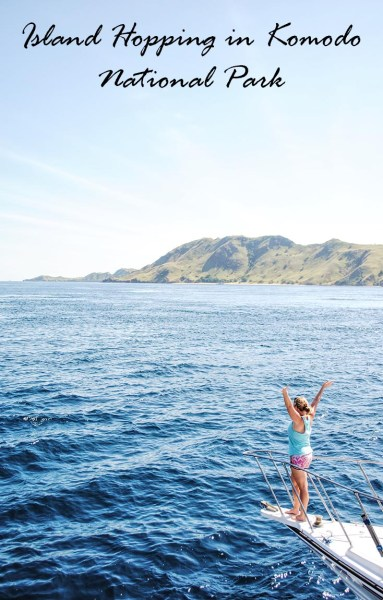 Island hopping through Komodo National Park, Indonesia is a perfect way to relax and see a beautiful part of the world.
