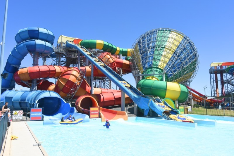 The extreme rides at Wet n wild Sydney