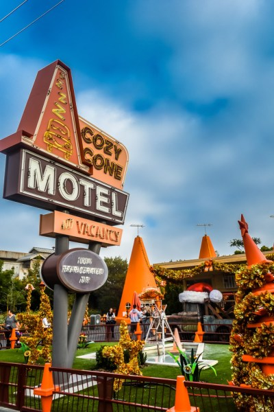 Cozy Cone Motel Radiator Springs Disneys California Adventure