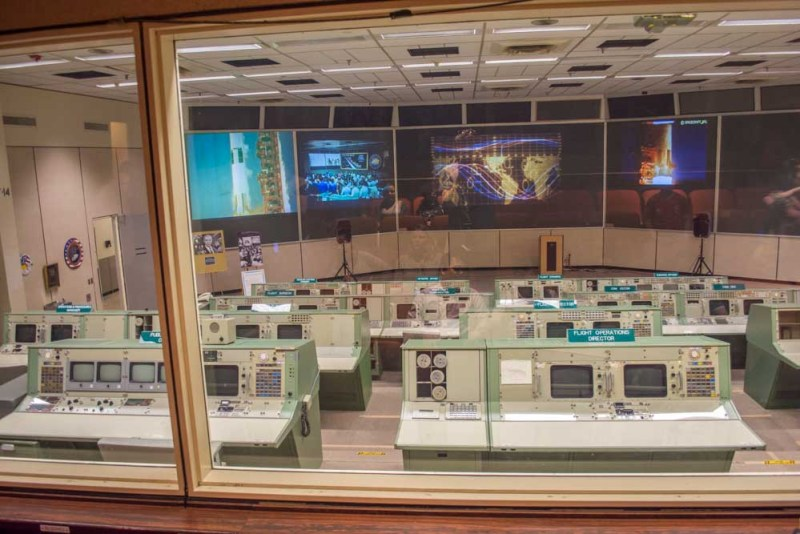 Historic Mission control space centre houston