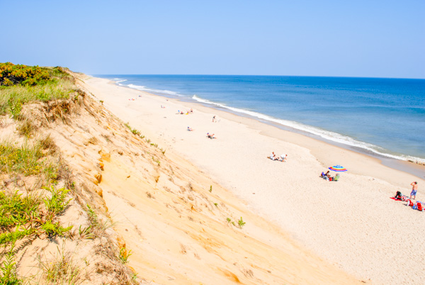 A Beach in Cape Cod, MA