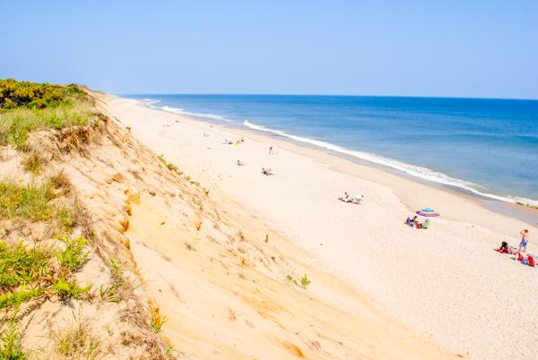 A Beach in Cape Cod, MA