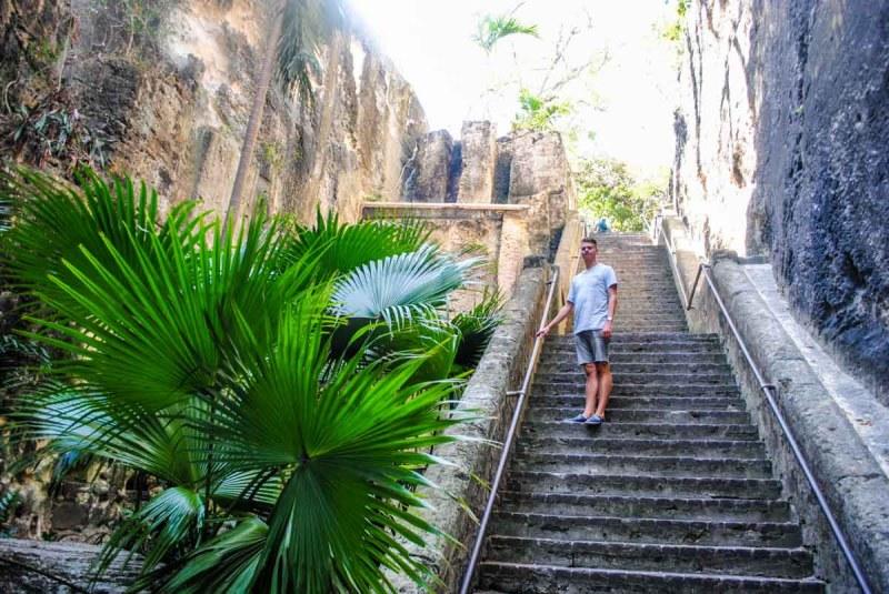 Victoria's Steps Nassau Bahamas
