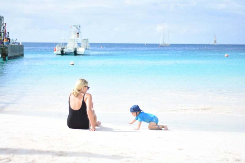 Carlisle Bay Barbados - out the front of the Boatyard