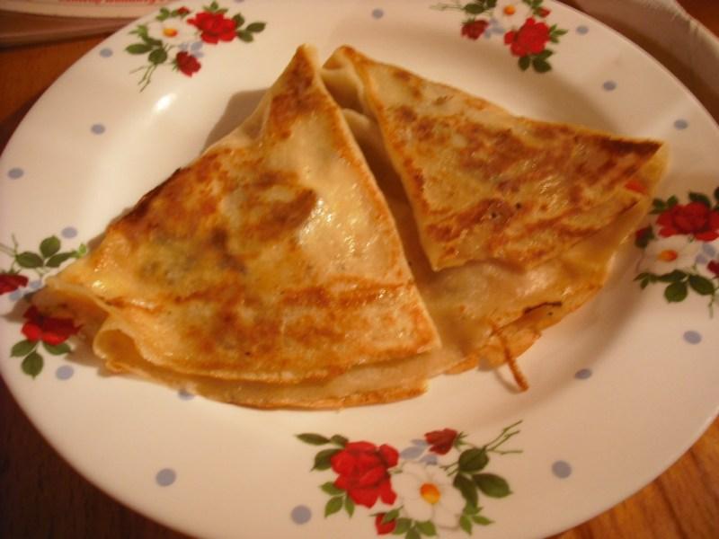 Blini pancakes, a Belarussian specialty