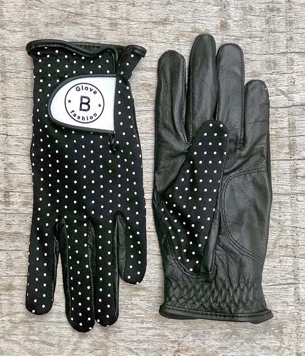 010104 - Guante B Fashion Glove Polka