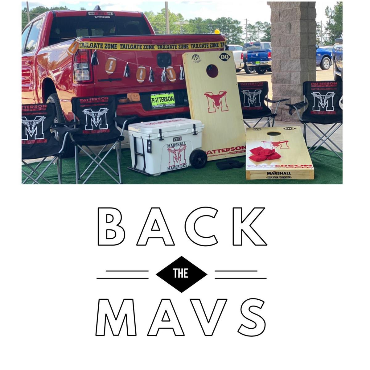 2019 - Back the Mavs Premium Tailgate Experience