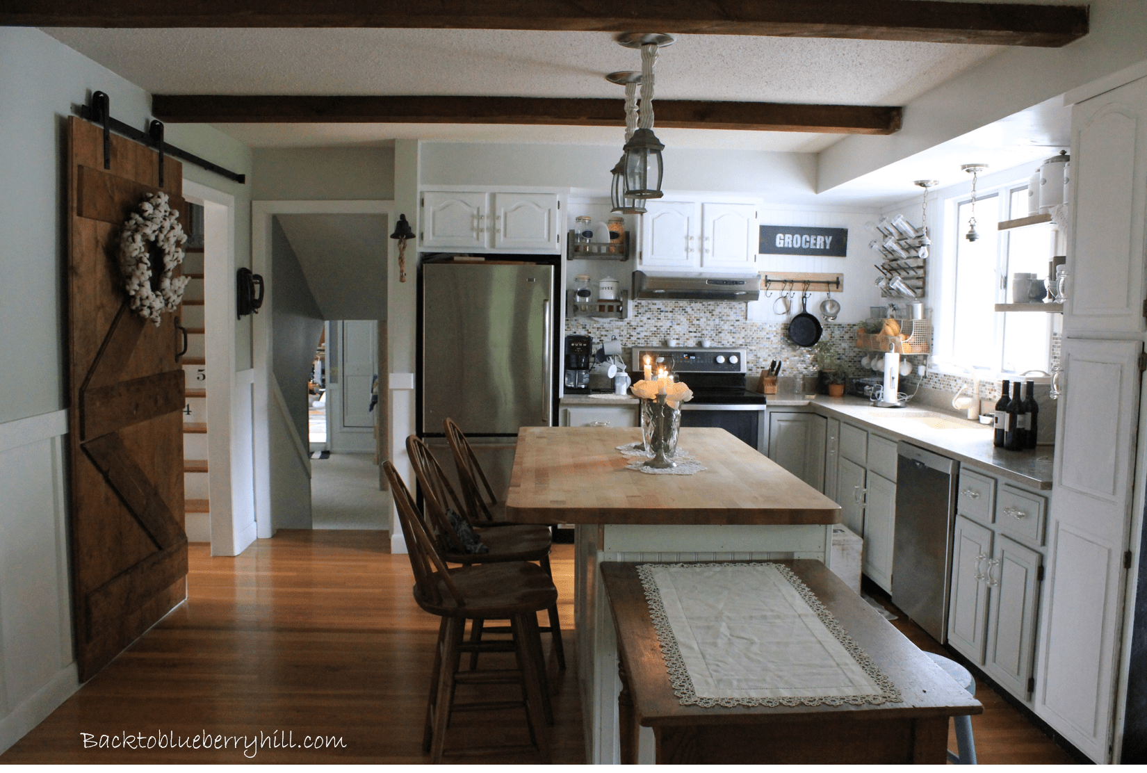 Kitchen Update: Incorporating a Barn Door  Back to