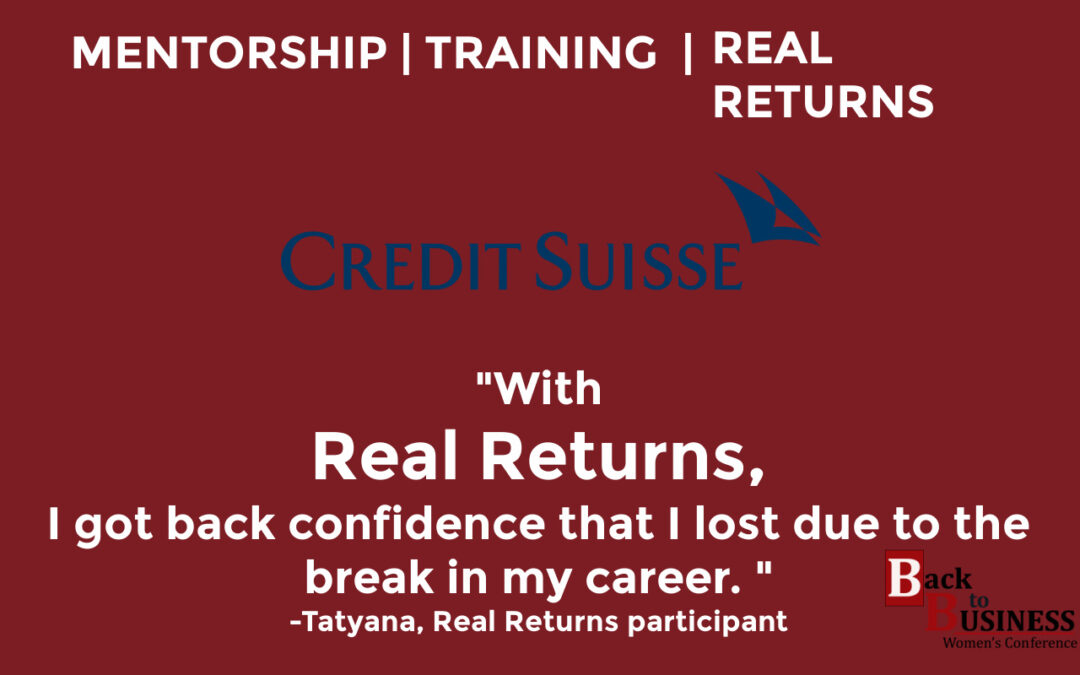 Credit Suisse Real Returns – The Inside Scoop From 4 Participants