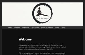 Simple Yoga Website