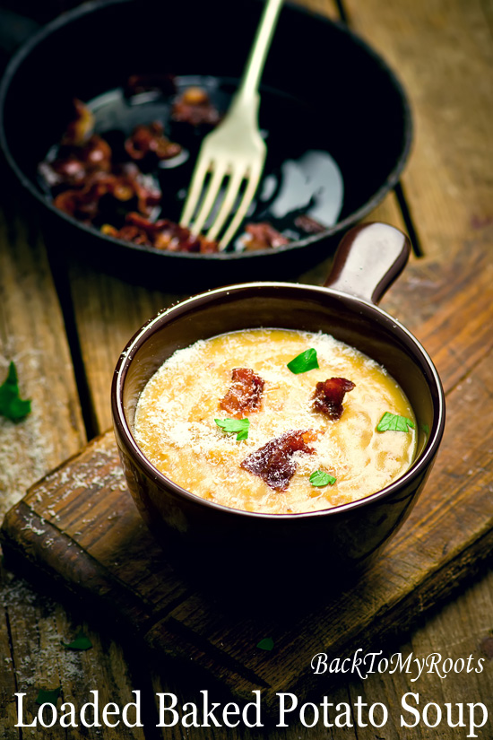 Baked Potato Soup - Back To My Roots
