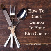 How To Cook Quinoa In Your Rice Cooker