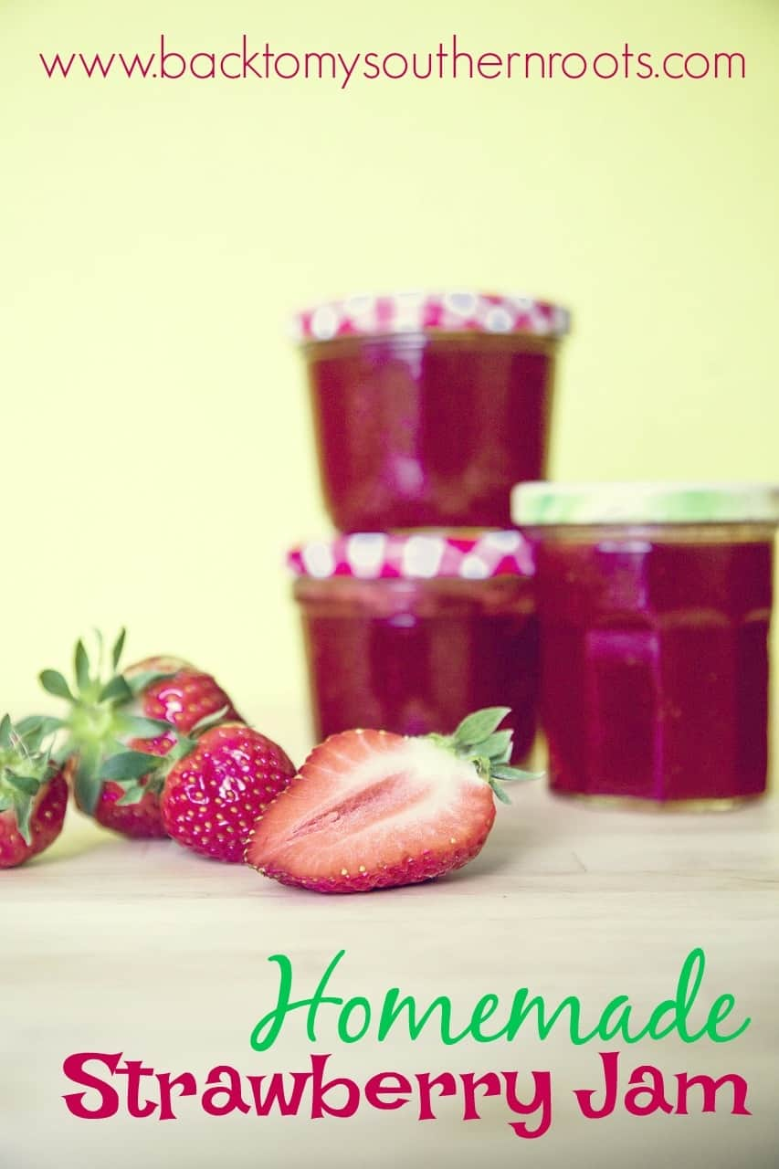 If you're looking for an easy recipe for strawberry jam, this is the one.