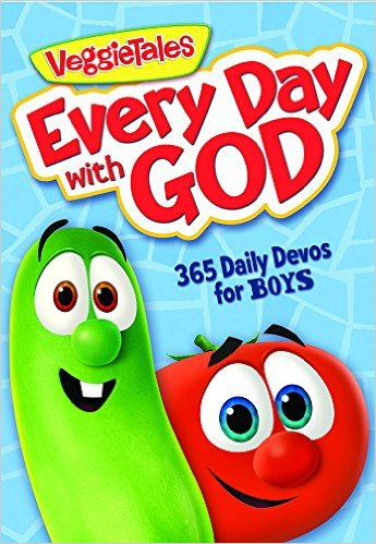 Are you looking for a good devotional for your kids? If your kids love VeggieTales, this is a great way to read more about the Bible, learn verses, pray more often, and get entertained by the one and only VeggieTales.