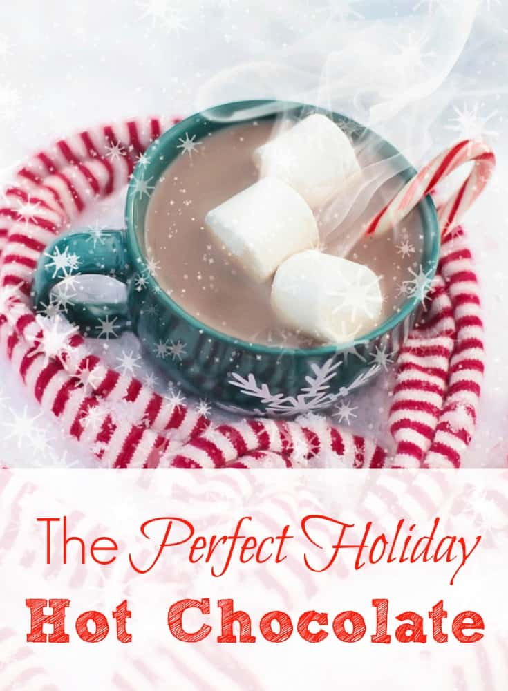 Save some money and make your hot chocolate at home. For the same price of one hot chocolate at your local coffee shop, you can make ten at home. Click here to get the hot chocolate mix recipe. Enjoy a piping hot cup during the winter months, or for that special holiday.