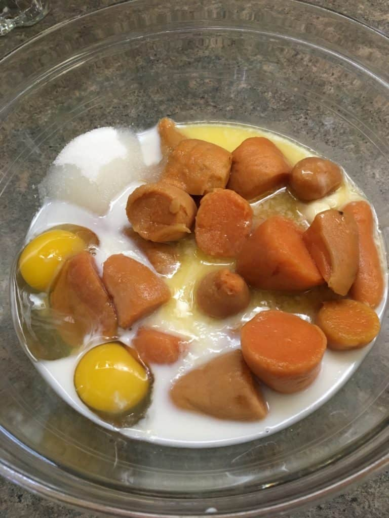 Savory Quick and Easy Holiday Sweet Potato Casserole for Thanksgiving meals with family and friends. This is a great meal to make for any holiday.