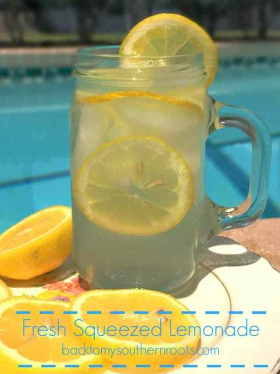 Summer is right around the corner, and this is a great recipe for a sunny day. Fresh squeezed lemons, and plenty of sweetness make this a refreshing drink to cool you down.