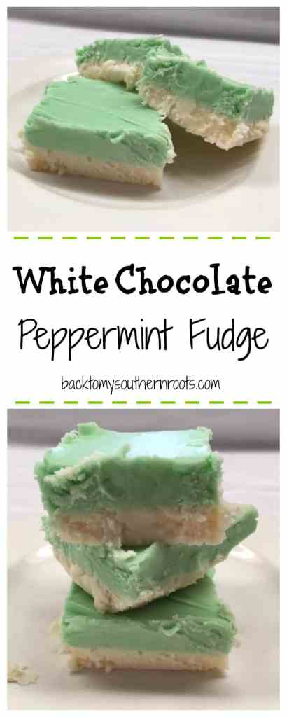 Fudge is good anytime of the year. Add a little peppermint and get a twist on your old favorite.