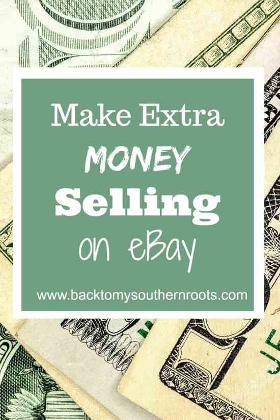 Learn to sell on eBay and make a few extra dollars to help pay off bills or get ahead on your savings.