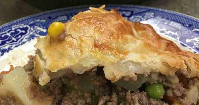Easy Ground Beef Pot Pie Recipe