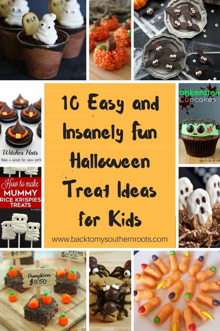 10 easy insanely fun halloween treat ideas for kids that for Halloween treats to make with kids
