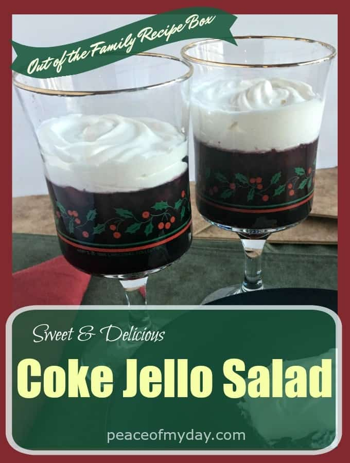 Sweet and Delicious Coke Jello Salad - Peace of My Day