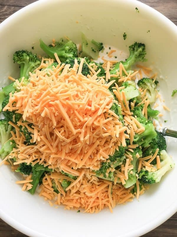 Broccoli Cheese Bake is an easy side dish recipe for families. It's a great way to get veggies in the kids. It's also the perfect side dish for Easter, Christmas, Thanksgiving, or any holiday.