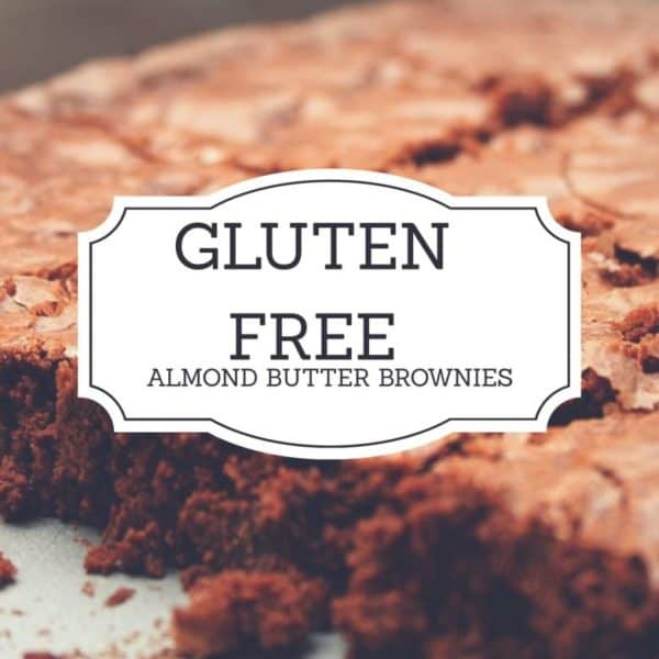 Gluten Free Almond Butter Brownies - The Hungry Mountaineer