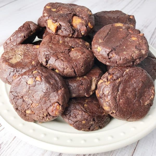 Chocolate Peanut Butter Pudding Cookies - Kelly Lynn's Sweets and Treats