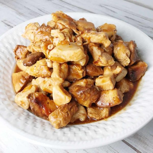 Crock Pot Orange Chicken from Kelly Lynn's Sweets and Treats