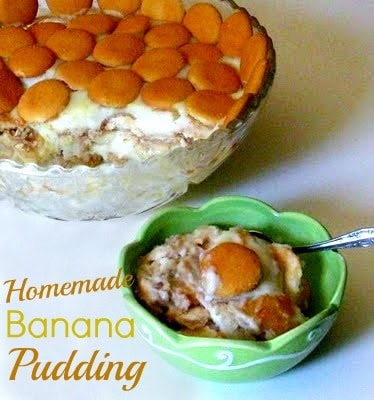 Homemade Banana Pudding (Granny's Recipe) from Cooking with K