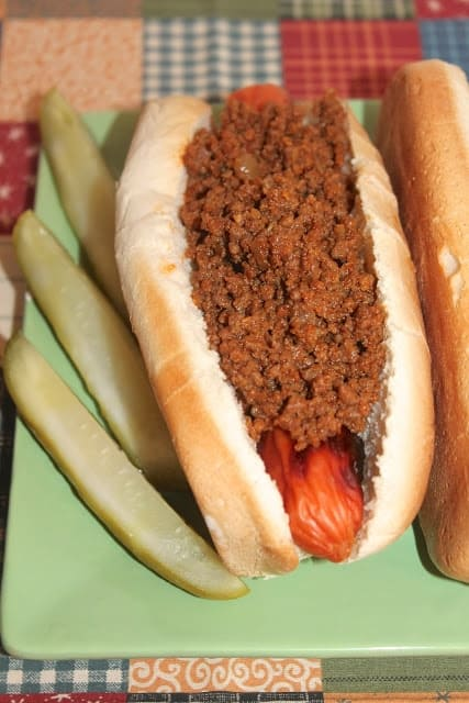 Grandpa's Hot Dog Sauce from Savory Moments