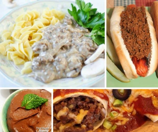 Foodie Friday Link Party 49 is full of delicious home-cooked meals and desserts. These homemade food recipes are the easiest dinner recipes.