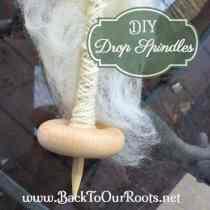DIY Drop Spindles