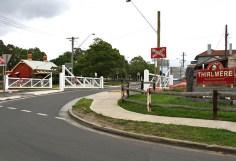 Thirlmere Level Crossing Trainworks
