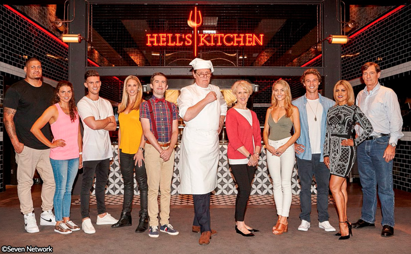 Debra & Lincoln for Hell's Kitchen Australia