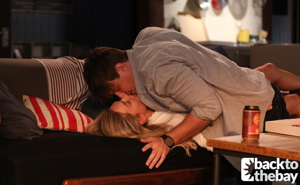 Colby and Jasmine share a kiss