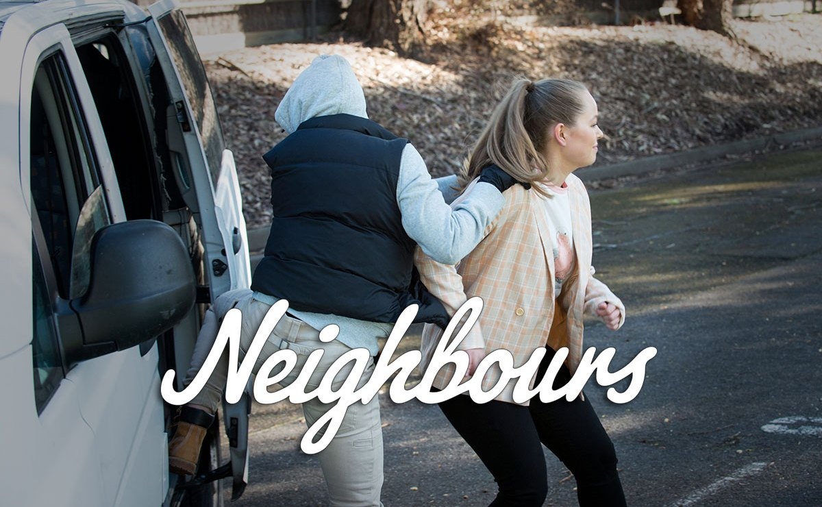 Neighbours Spoilers –Kane is arrested as Harlow is kidnapped