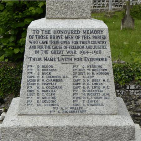 Langleybury War Memorial refurbished