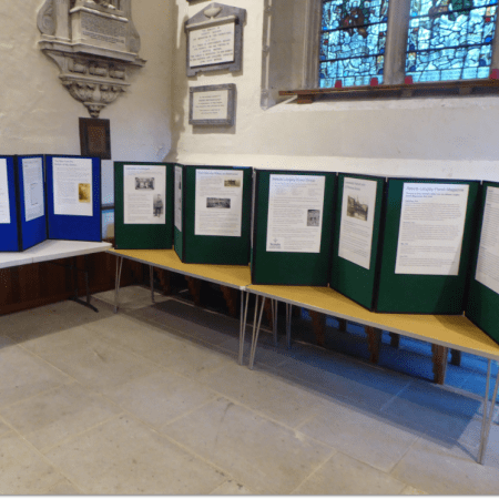 Exhibition at St Lawrence Church