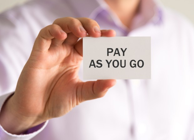 Pay as you go