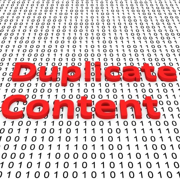 duplicate data
